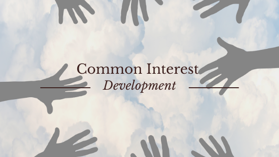 Common Interest Development in and Homeowners Association
