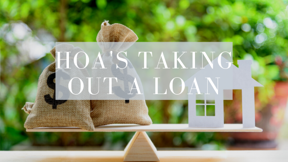 Can Homeowners Association take out loans