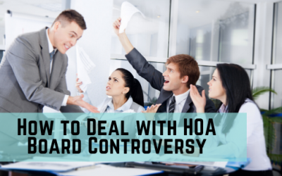HOA Board Meeting Controversy