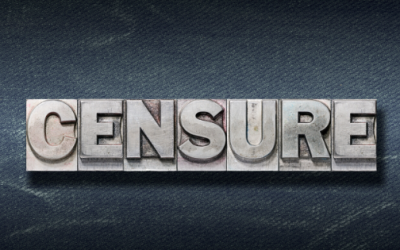 Censure: Never Fun, Sometimes Necessary