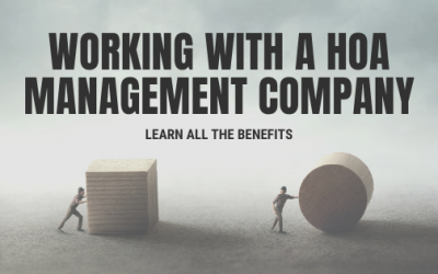 The Benefits of Working With a Homeowners Association Management Company