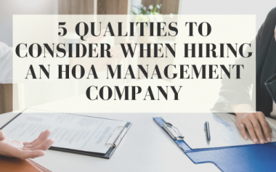 What to Look For When Hiring an HOA Management Company?