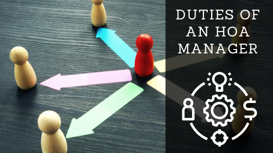The three legal duties of a homeowners association manager image