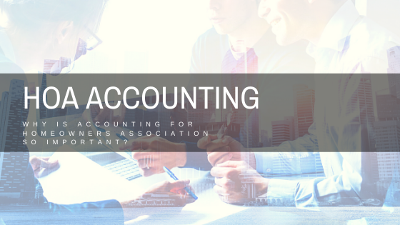 What Accounting Is Important For Homeowners Associations