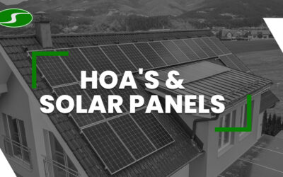 HOA Solar Panels, What You Need to Know